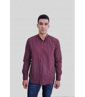 Мужская рубашка с длинным рукавом A-67-20