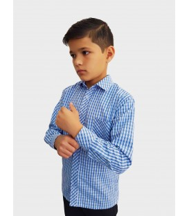 Детская рубашка с длинными рукавами E-5-20