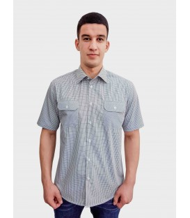 Men's short-sleeved shirt A-35-20