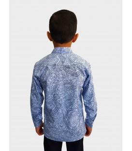 Детская рубашка с длинными рукавами E-4-20