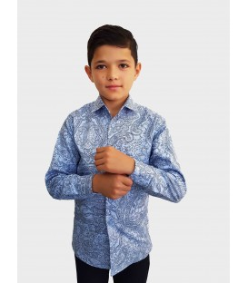 Children's shirt with long sleeves E-4-20